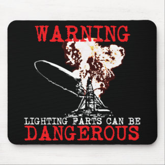 Funny farting mouse mat