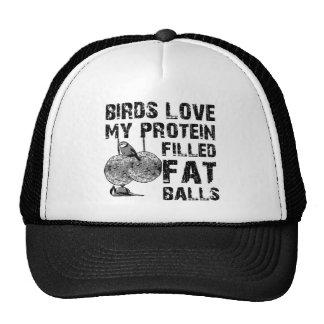Funny fat balls cap