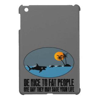 Funny fat joke case for iPad mini