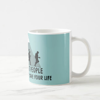 Funny fat joke coffee mug