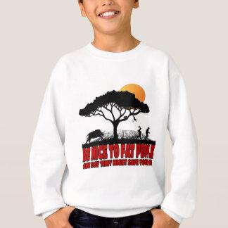 Funny fat joke sweatshirt