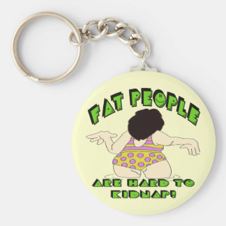 Funny Fat People T-shirts Gifts Key Chains