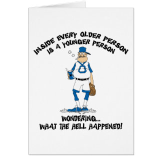 Funny Father's Day Baseball Dad Card