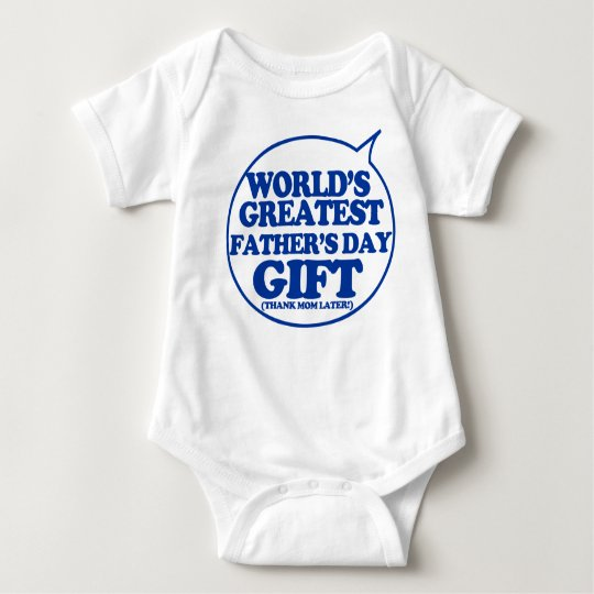 Funny Father's Day Gift for baby to wear