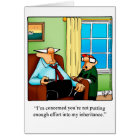 Funny Father's Day Humour Greeting Card