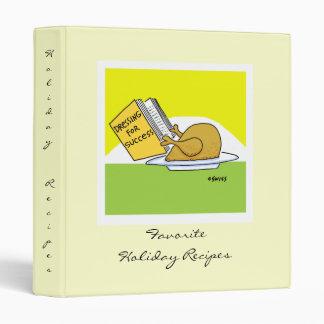 Funny Favorite Holiday Recipes Binder