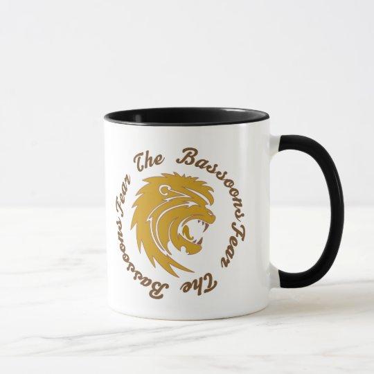 Funny Fear The Bassoon Mug