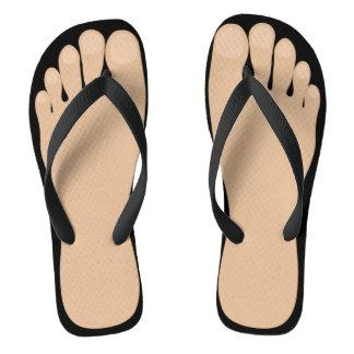Funny Feet Flip Flops
