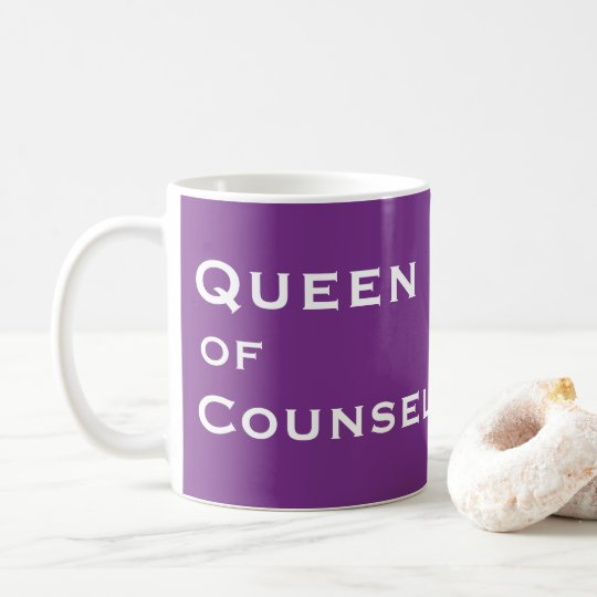 Funny Female Counsellor Nickname   Joke Title Coffee Mug