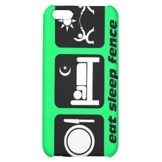 funny fencing iPhone 5C covers