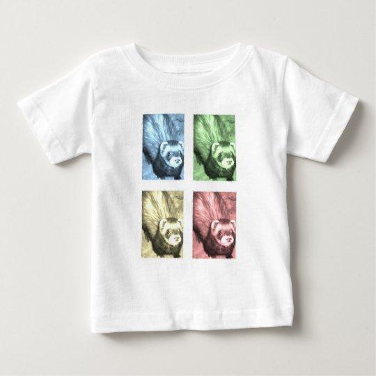 Funny Ferrets Baby T-Shirt