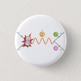 Funny Feynman Diagram 3 Cm Round Badge