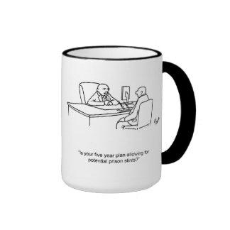 Funny Financial Humor Mug