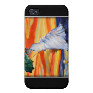 Funny Fine Art - Blown Away iPhone 4/4S Cases