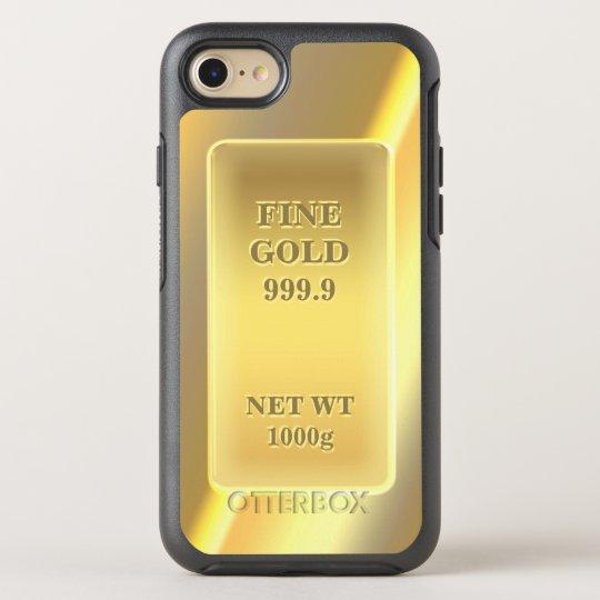 Funny Fine Gold 999.9 Gold Brick Look OtterBox