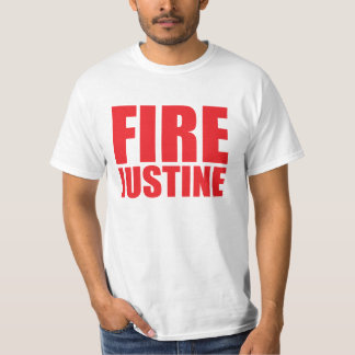 Funny 'Fire Justine' Justine Sacco T-Shirt