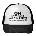 Funny Fireman  It's a FIRE! Cap