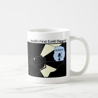 Funny First Gold Digger Stickman Mug - 119