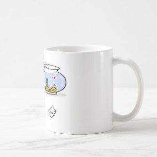 funny fish coffee mug