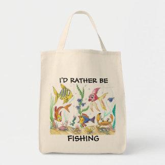 Funny Fish Fishing Bag
