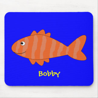 Funny fish mouse pads
