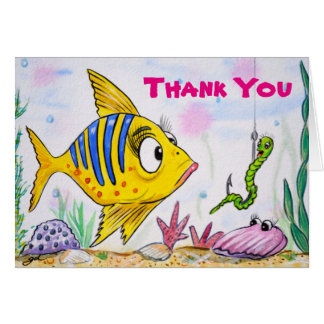 Funny Thank You Note Cards