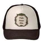 Funny Fisherman Cap: Fish Fear Me
