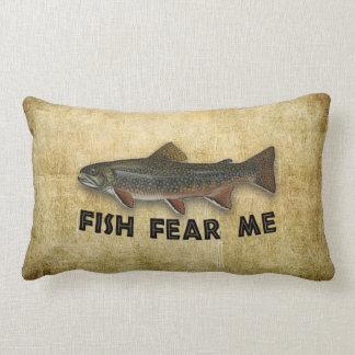 Funny Fisherman Fish Fear Me Pillows
