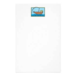 Funny Fisherman's Stationery