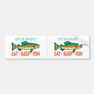 Funny fishing bumper stickers funny fishing car decals for Fishing car stickers