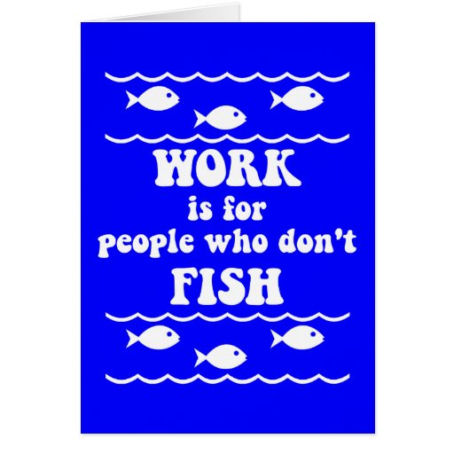 Funny fishing saying cards