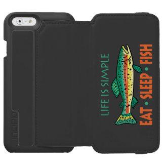 Funny Fishing Saying Incipio Watson™ iPhone 6 Wallet Case