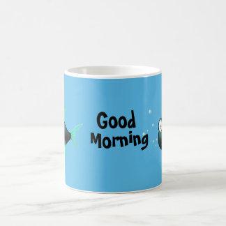 Funny Fishy Basic White Mug