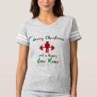 Funny Fitness Fitmas Christmas Trainer Shirt