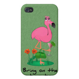 Funny Flamingo  iPhone 4/4S Cover