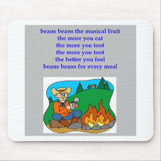 funny flatulence rhyme mouse pad