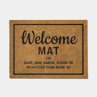 Funny Floormat | Welcome Mat