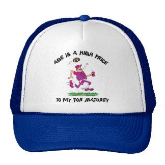 Funny Football Grandpa Gift Cap