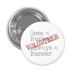 Funny Former Runner Volunteer 3 Cm Round Badge