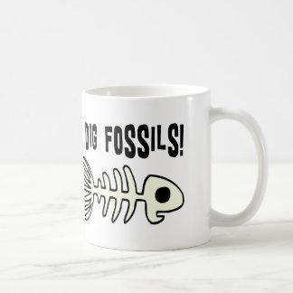 Funny Fossil Gift Item Coffee Mug