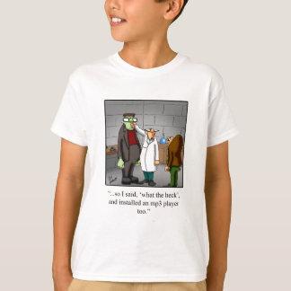 Funny Frankenstein Cartoon Tee Shirt