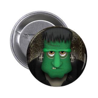 Funny Frankenstein Halloween Costume 6 Cm Round Badge