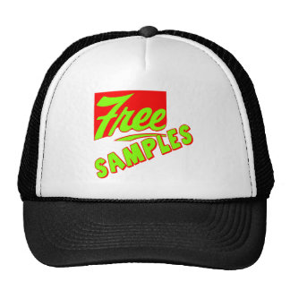 Funny Free Samples T-shirts Gifts Mesh Hat