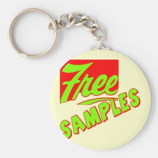 Funny Free Samples T-shirts Gifts Key Chain