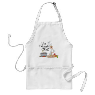 Funny French Chef Gift Adult Apron
