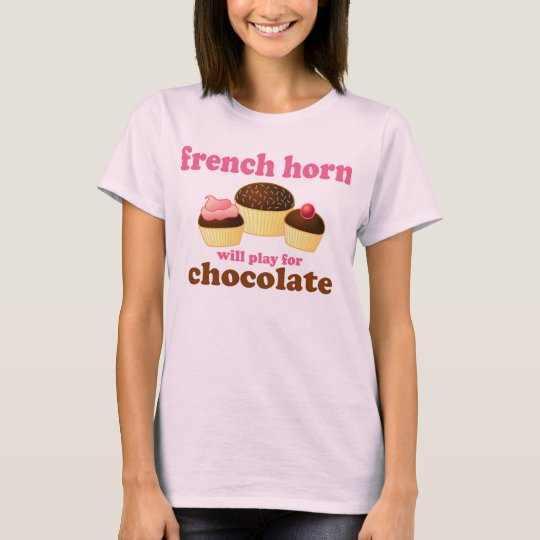 Funny French Horn Quote T-shirt