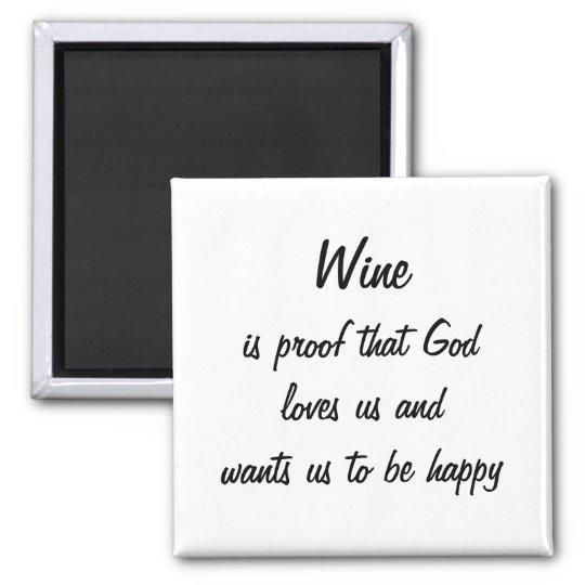 Funny fridge magnet wine quote unique women gifts