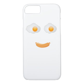 Funny Fried Egg Food Face iPhone 7 Case
