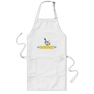 Funny Fried Eggs Long Apron