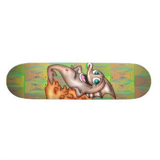 Funny Friendly Fish 18.1 Cm Old School Skateboard Deck